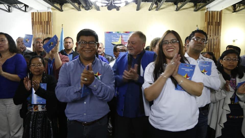 Convergencia va por la presidencia con  Morales y Valiente