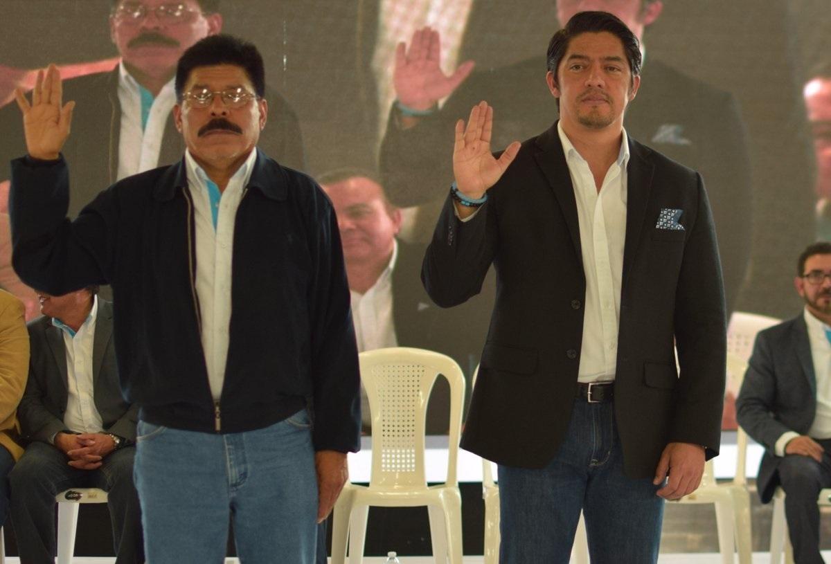 Viva presenta su binomio para buscar la presidencia y vicepresidencia