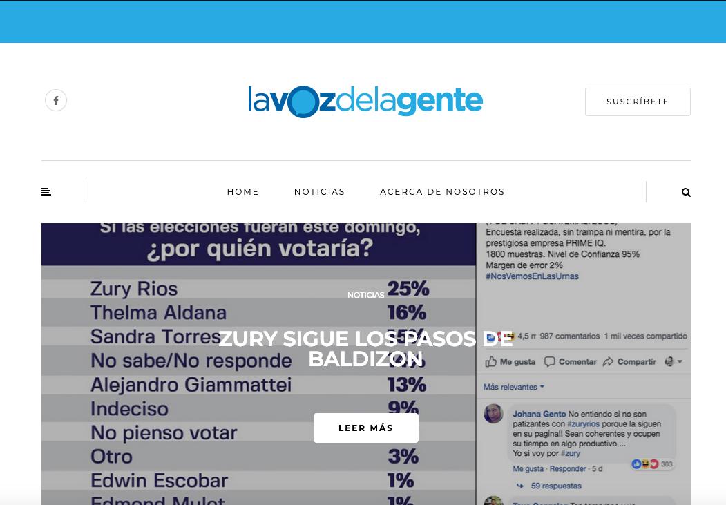 Dos sitios anónimos promueven candidatura de Julio Héctor Estrada