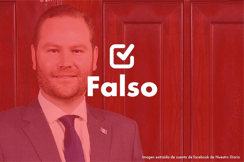 Falso | Álvaro Arzú Escobar: Se ha triplicado el presupuesto del MP
