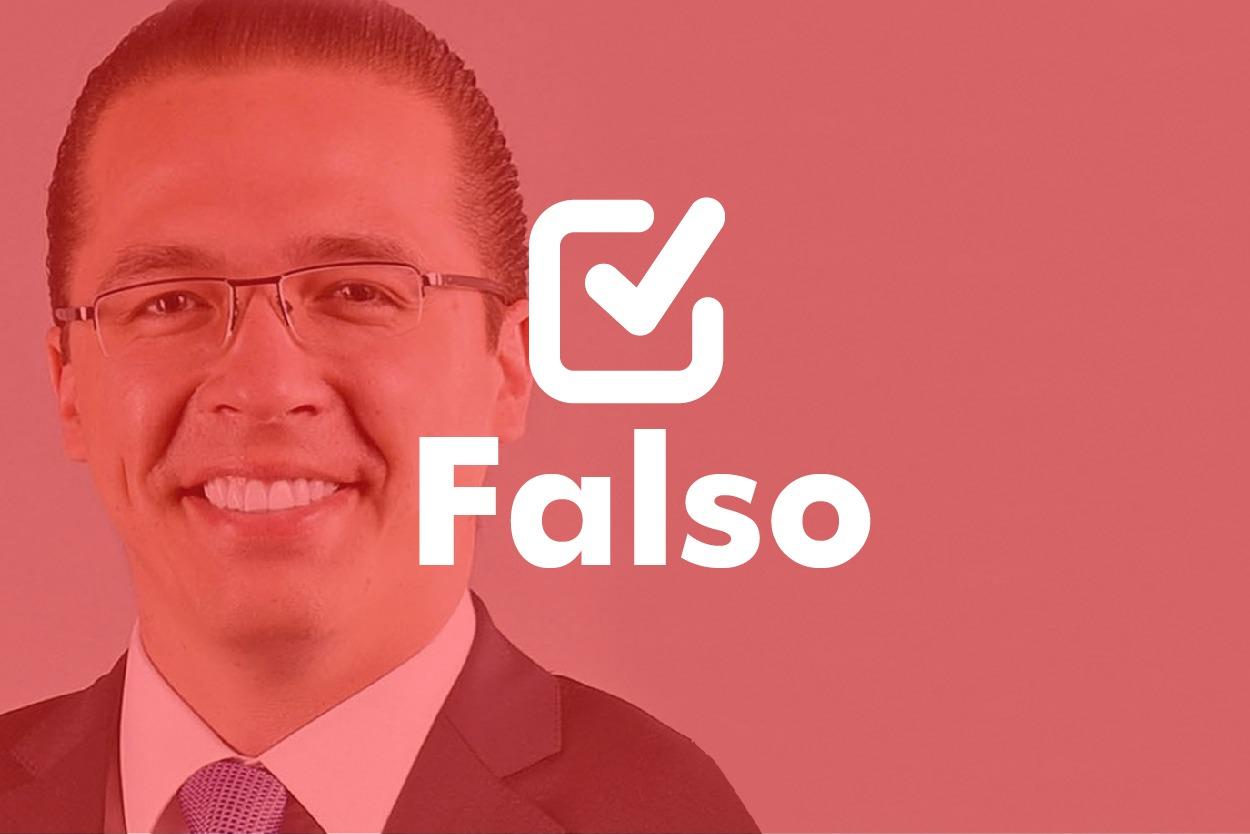 Falso | Felipe Alejos: la condena de José Ubico fue hace 20 años