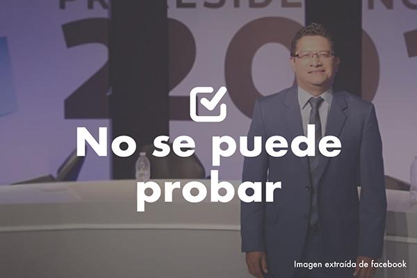 No se puede probar que se evaden Q24 millardos anuales, como dijo Aníbal García