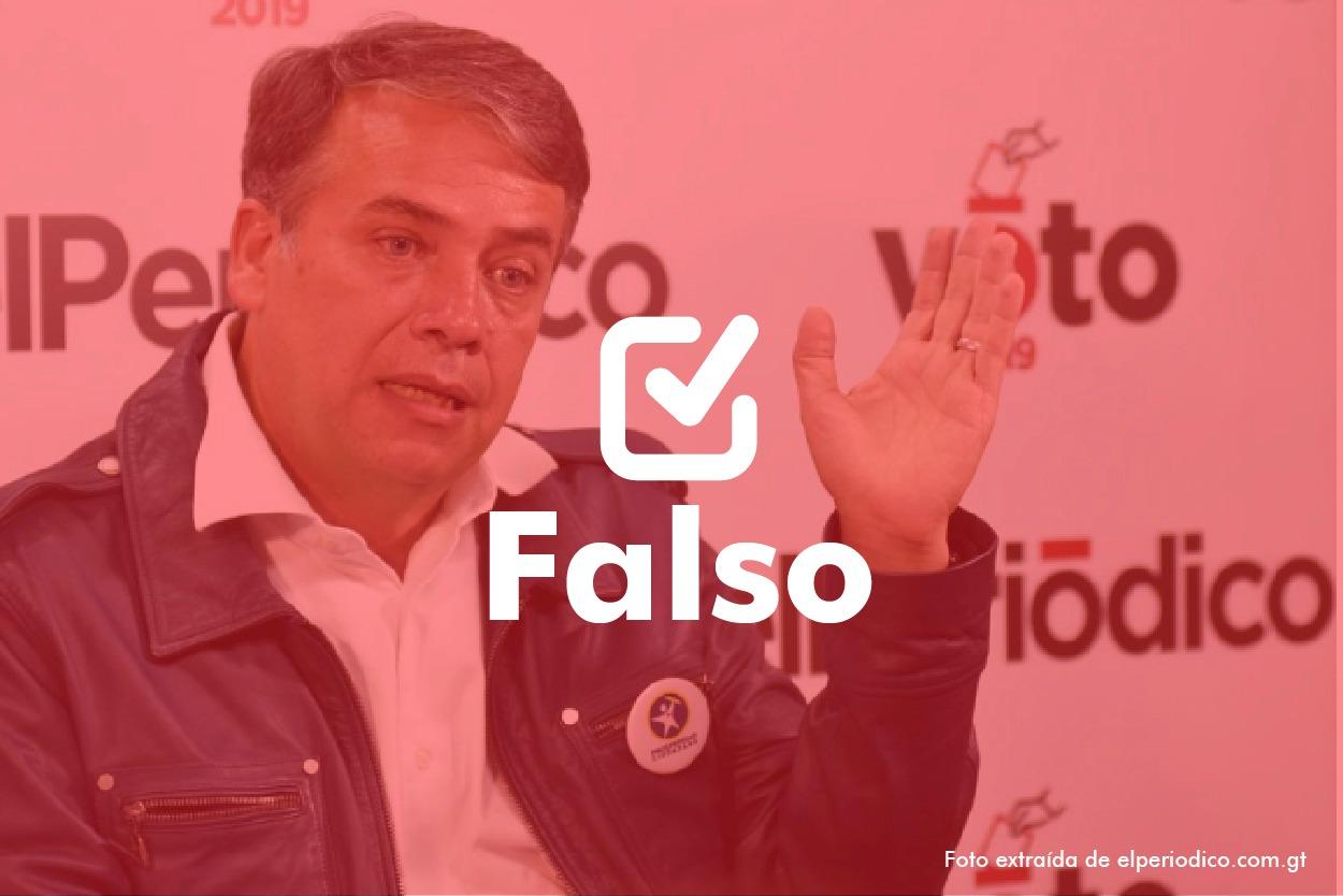 Falso | Edwin Escobar: el Estado gasta el 88 por ciento en funcionamiento