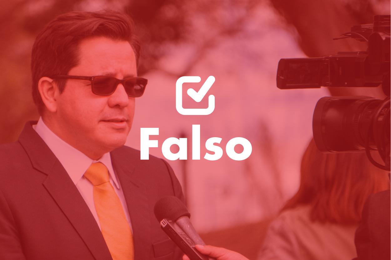Un dato falso de Julio Héctor Estrada sobre diputados tránsfugas