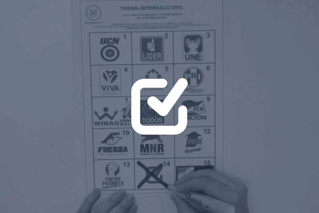 Significado de los colores de las boletas electorales