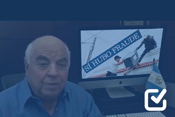 Serrano Elías usa imagen fuera de contexto para señalar fraude electoral
