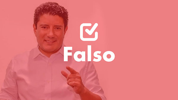 Un dato falso del diputado Carlos Barreda sobre la recaudación tributaria