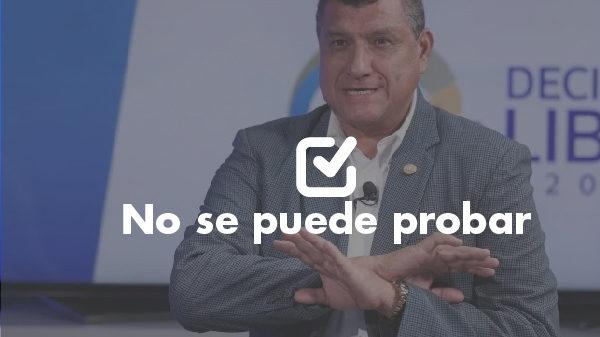 Un dato que no se puede probar de Guillermo Castillo