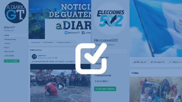 Inactivas dos cuentas en Facebook y Twitter que desinforman