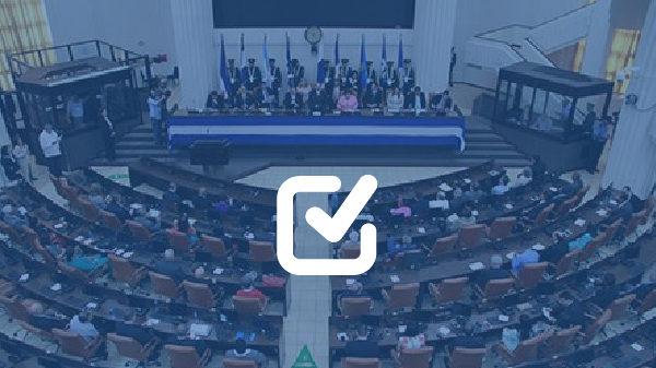 UNE se queda con el 20 % de diputados del Parlacen