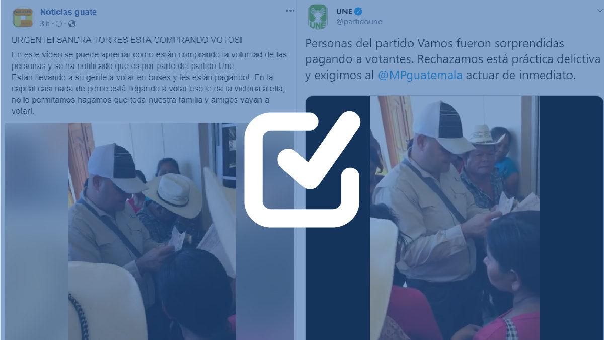 Circula desinformación sobre posible compra de votos