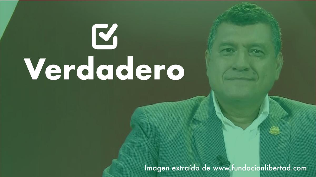 Una frase verdadera de Guillermo Castillo, vicepresidenciable de Vamos